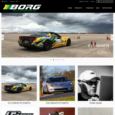 The new Borg Motorsports website is here! Check out our new home page and site.