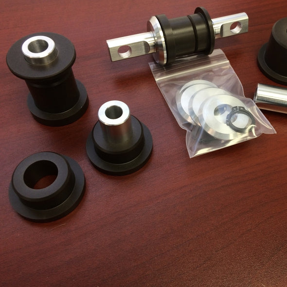 Borg Motorsports sells individual bushings to support Pro Touring and hot rod builds based on Corvette suspensions.