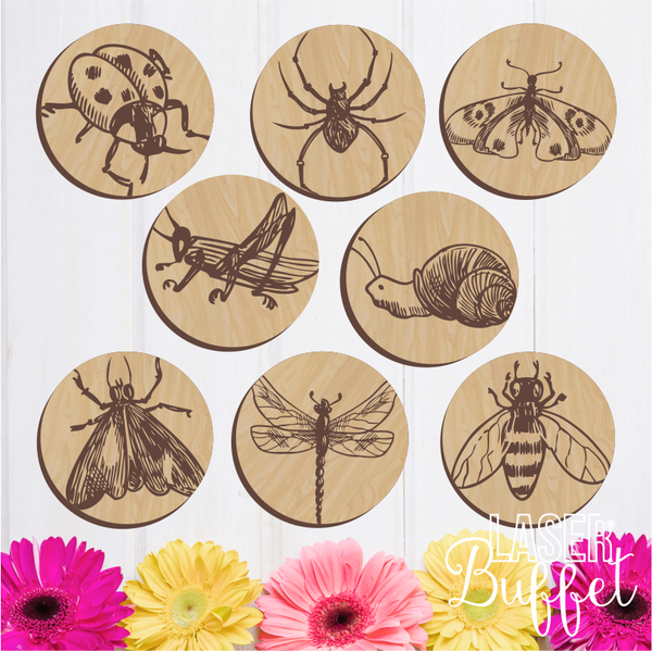New Laser Cut Coaster Set Cut File. Buy Laser Cut Files Online – Laser  #TK38