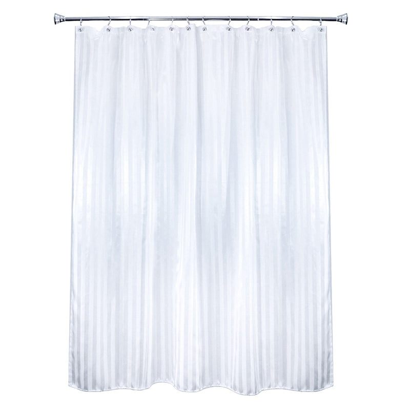 Milkweed Farms Manor Heavyweight Fabric Shower Curtain Liner- Hotel Qu