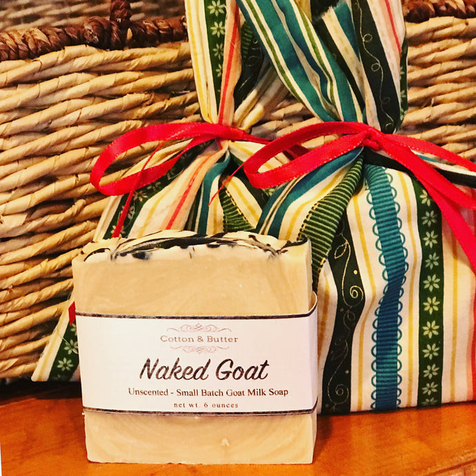 Naked Goat Milk Soap