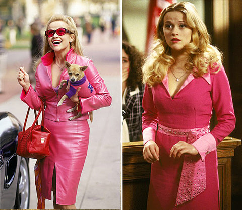 Elle woods Legally blonde Hot Pink Style