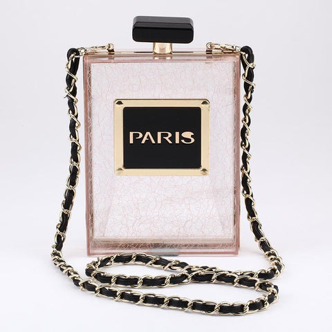 World Famous Paris Acrylic Handbag