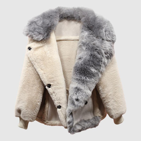 All Fur no Play Suede Jacket