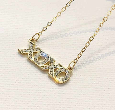 Official XOXO Fashion Necklace - Gold