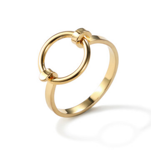 Geometric Golden Ring
