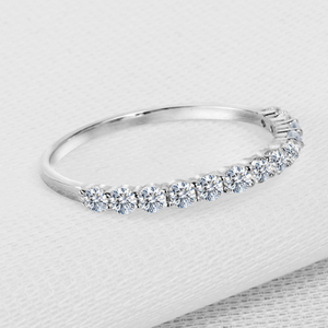 Xoxo 5th Avenue 925 Sterling Silver 2 mm Cz Rings
