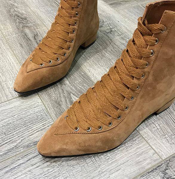 Xoxo 5th Avenue Suede & Retro Ladies Boots