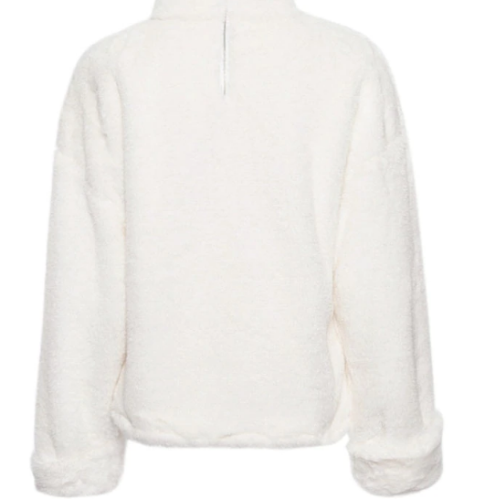 Xoxo 5th Avenue Long Sleeved & Furry Casual Sweater