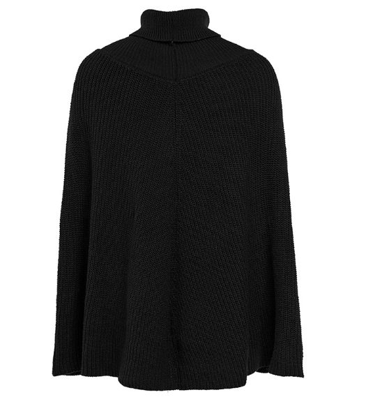 Xoxo 5th Avenue Ladies Winter Cape Sweater
