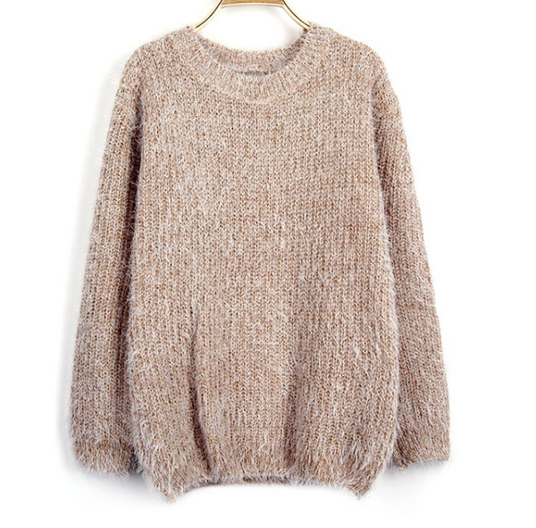 Xoxo 5th Avenue Candy-colored Pullover Female Sweater