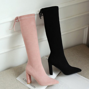 Xoxo 5th Avenue High Skinny Matte Boots