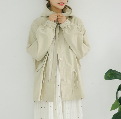 Xoxo 5th Avenue Casual Hooded Jacket