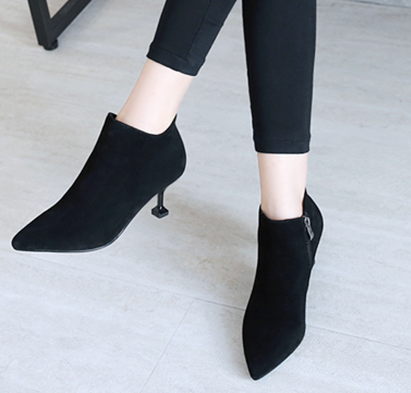 Xoxo 5th Avenue High Heel Velvet Boots
