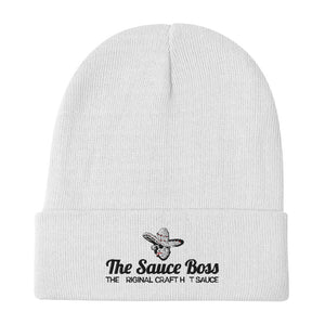 The Sauce Boss - Embroidered Beanie