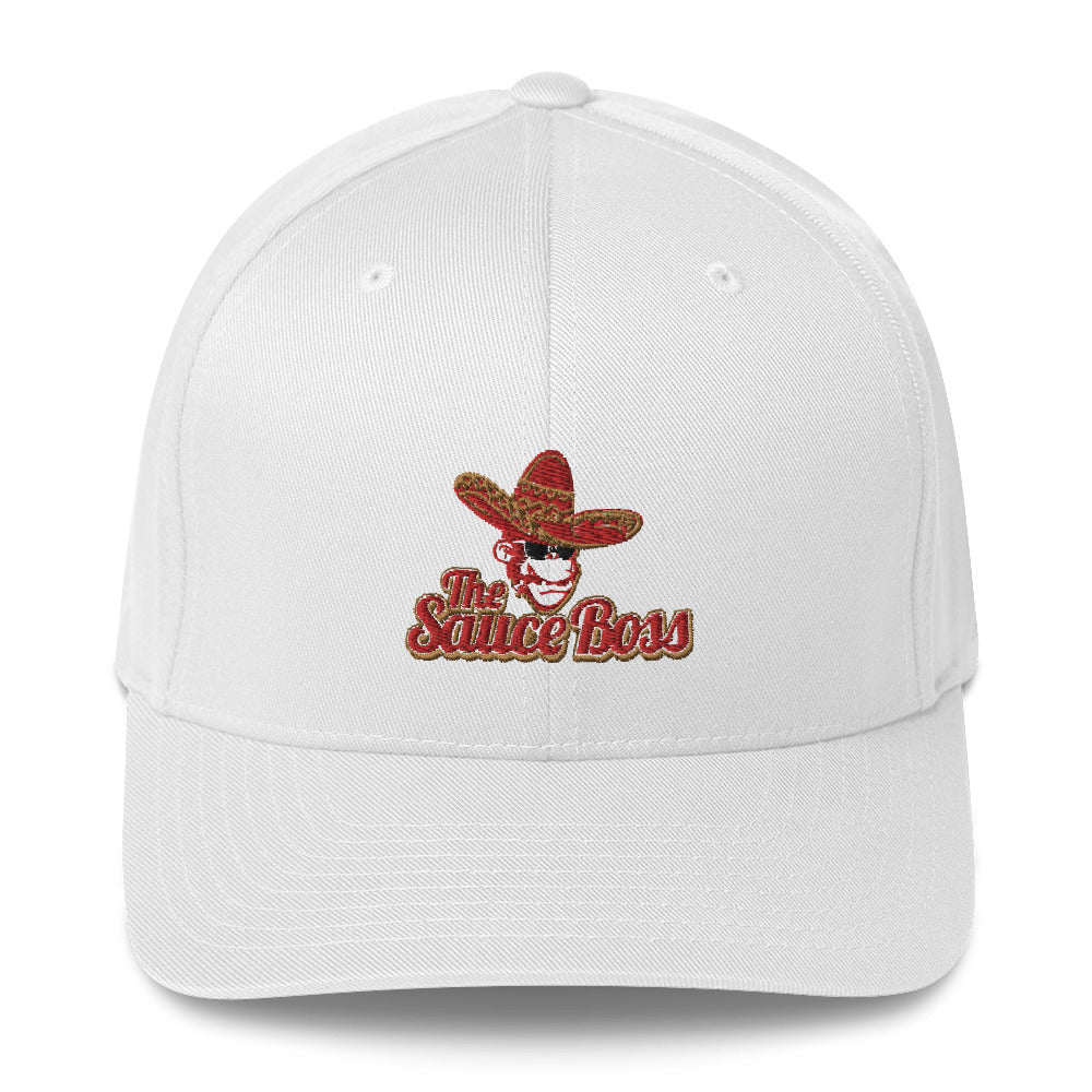 The Sauce Boss Logo - Flexfit Hat