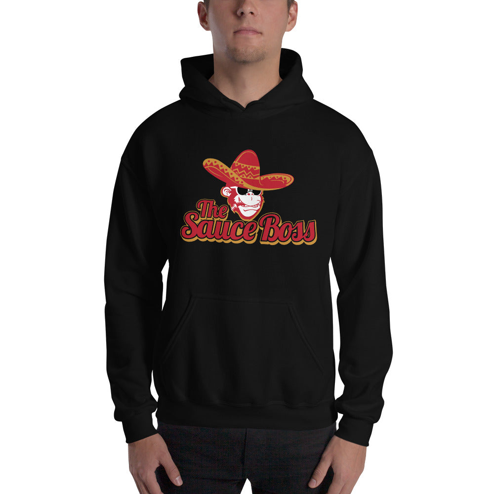Load image into Gallery viewer, The Sauce Boss Logo Unisex Hoodie