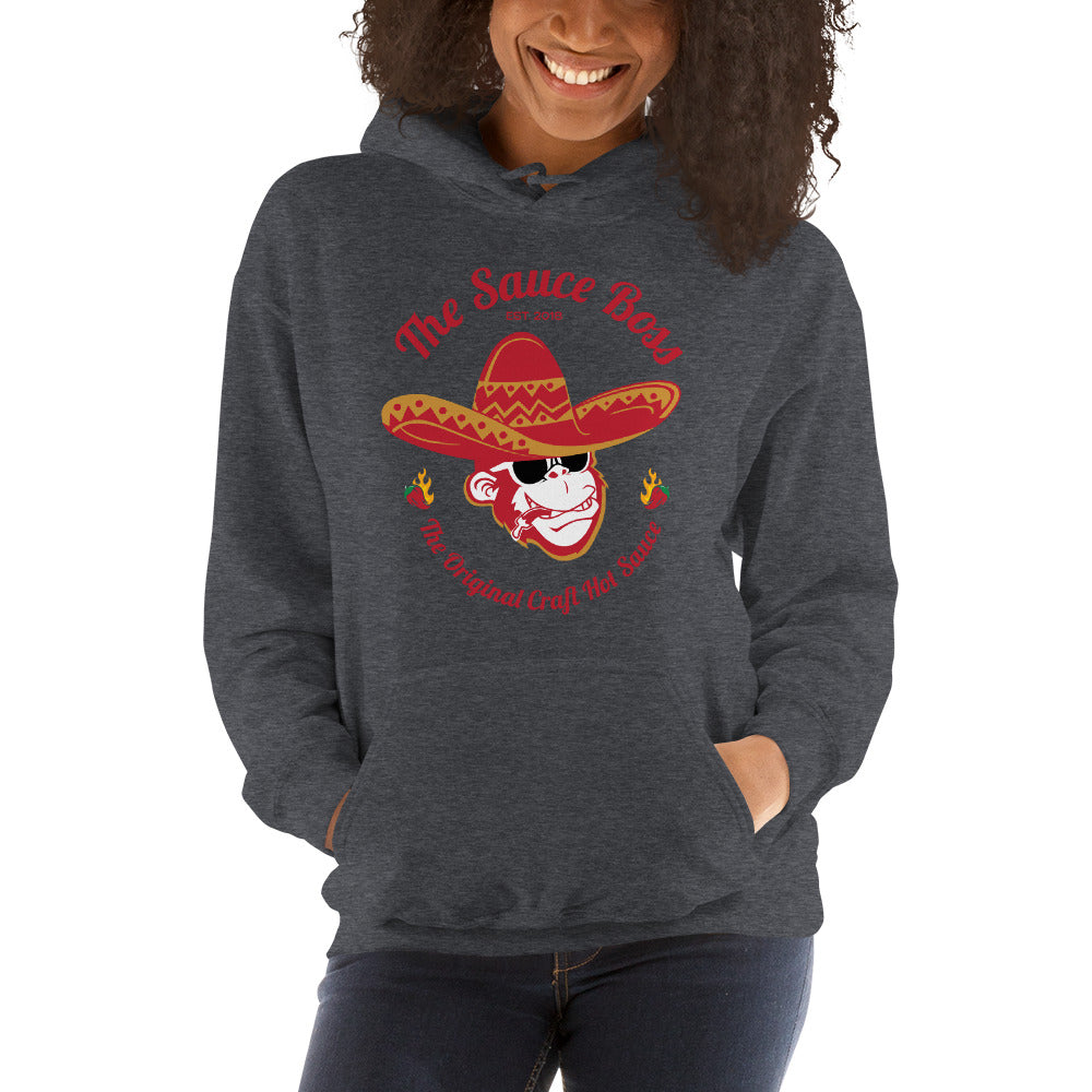 The Original Craft Hot Sauce - Full Color Logo - Unisex Hoodie