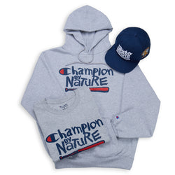 Naughty Hoodie Bundle - Champion by Nature Edition