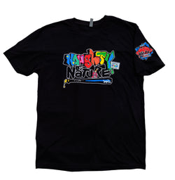 Naughty by Nature x Pinder Story Edition Logo Tee