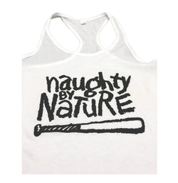 Classic Naughty Ladies Cross Back Tank Top