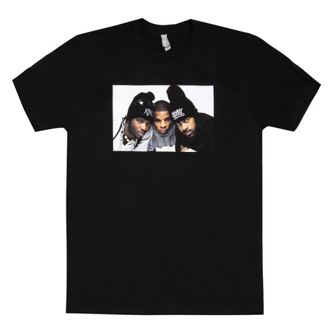 3 Man Threat Tee