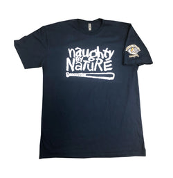 Poverty's Paradise Naughty Logo Tee