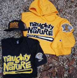 Naughty Hoodie Bundle - Black and Yellow Edition