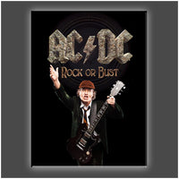 """Rock or Bust"" Stretched Canvas Print (Various Sizes)"