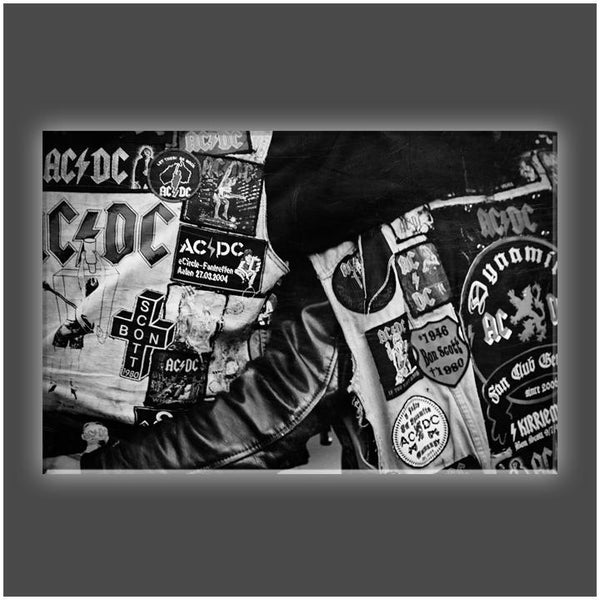 """Wear My AC/DC"" Stretched Canvas Print (Various Sizes)"