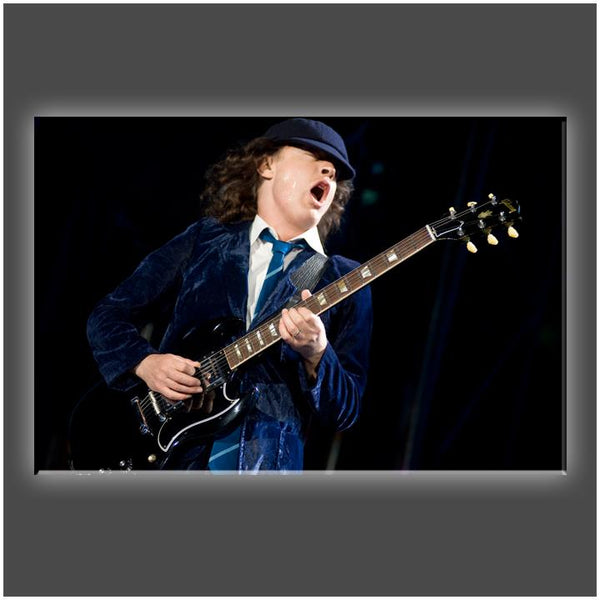 """Hear Him Play"" Stretched Canvas Print (Various Sizes)"