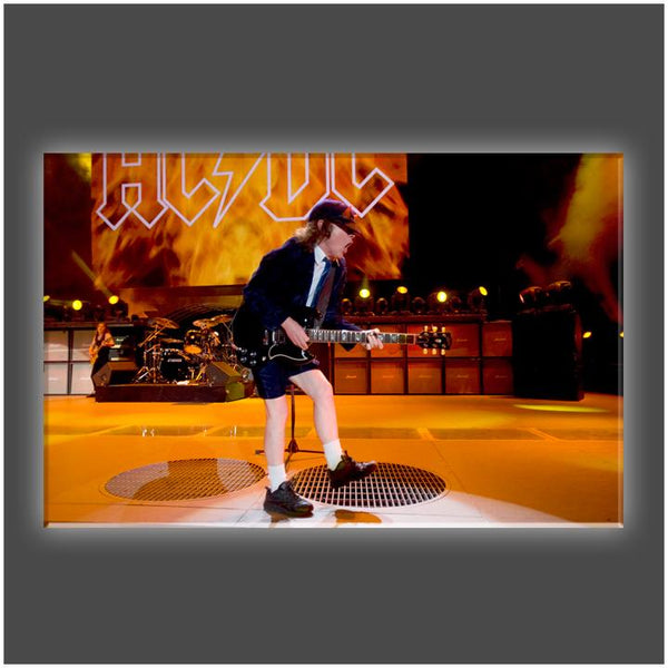 """Angus Rocks"" Stretched Canvas Print (Various Sizes)"
