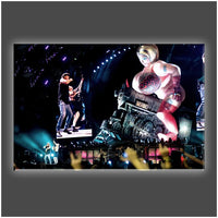 """We Are on the Rock n Roll"" Stretched Canvas Print (Various Sizes)"