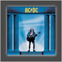 """Who Made Who"" Stretched Canvas Print (Various Sizes)"