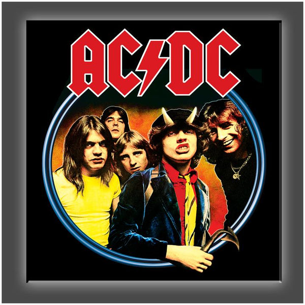 """AC/DC"" Stretched Canvas Print (Various Sizes)"