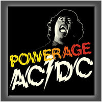 """Power Age AC/DC"" Stretched Canvas Print (Various Sizes)"