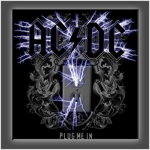 """Plug Me In"" Stretched Canvas Print (Various Sizes)"