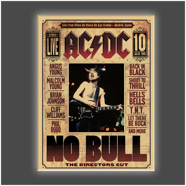 """No Bull"" Stretched Canvas Print (Various Sizes)"