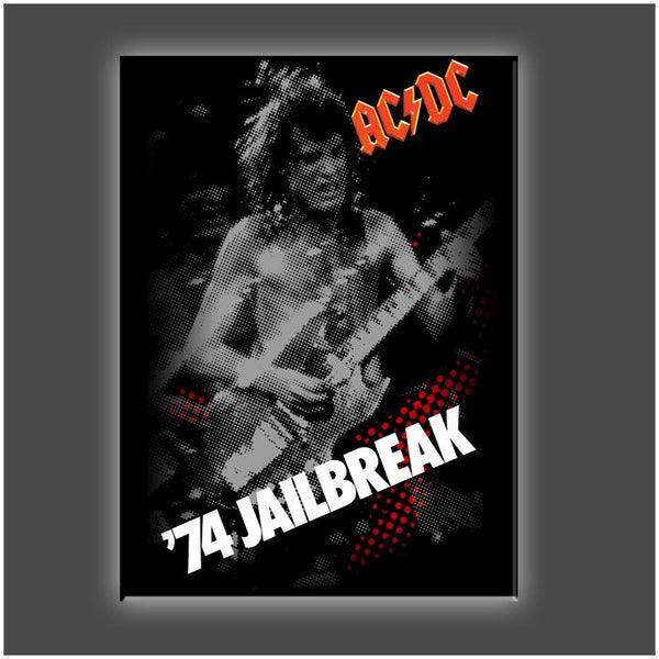 """Jail Break"" Stretched Canvas Print (Various Sizes)"