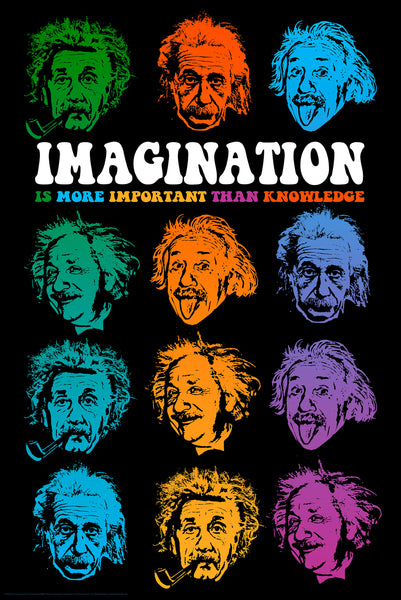 """Faces of Imagination"" Poster BD001"