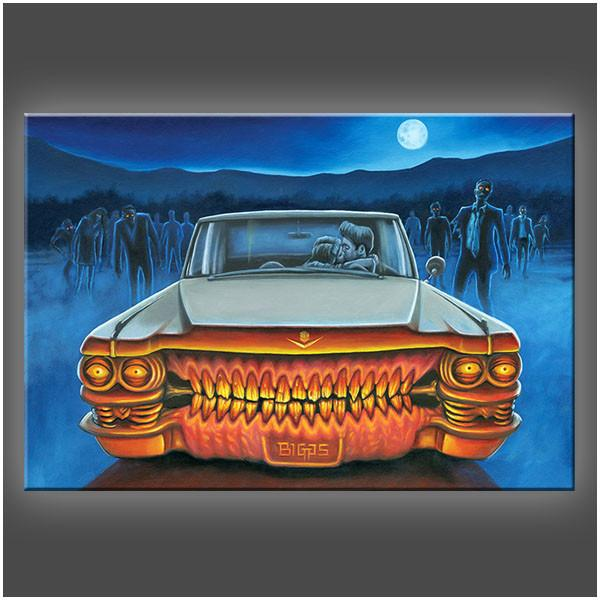 """Last Makeout"" Stretched Canvas Print (Various Sizes)"