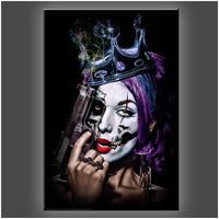 """Killer Queen"" Stretched Canvas Print (Various Sizes)"