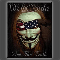 """We the People"" Stretched Canvas Print (Various Sizes)"