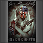 """Give Me Liberty"" Stretched Canvas Print (Various Sizes)"