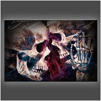 """Till Death"" Stretched Canvas Print (Various Sizes)"