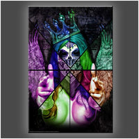 """Queen Dead Nu"" Stretched Canvas Print (Various Sizes)"