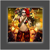 """Jester"" Stretched Canvas Print (Various Sizes)"