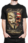"""Divided We Stand"" T-shirt DBA25"