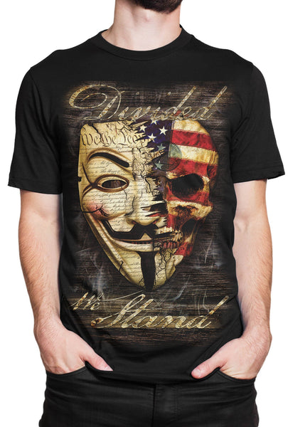 """Divided We Stand"" T-shirt"