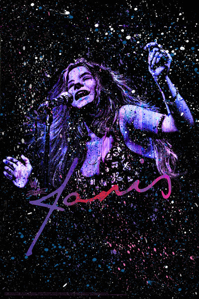 """Janis"" Poster"
